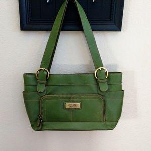 Green Relic purse